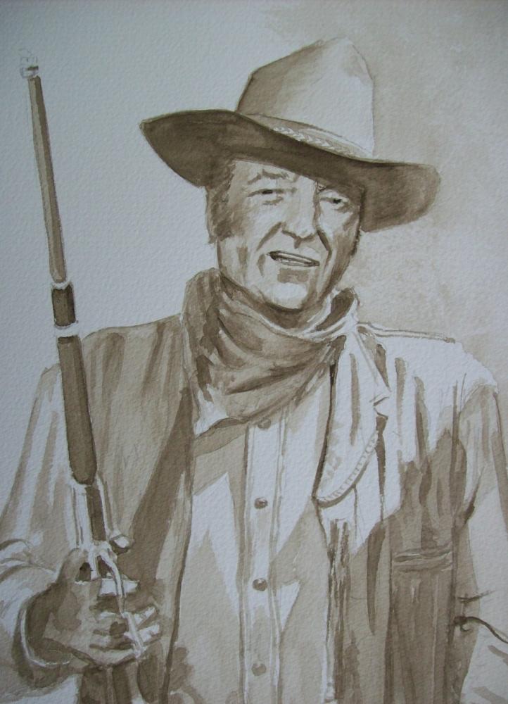 John Wayne by Tom-Heyburn